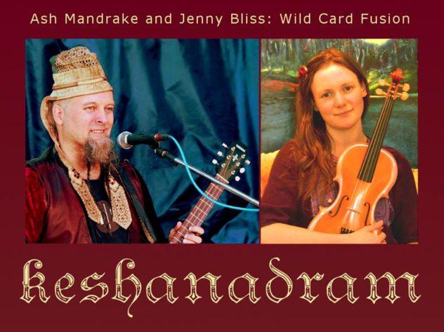 "FFF presents: Ash Mandrake & Jenny Bliss - ""Keshanadram"""