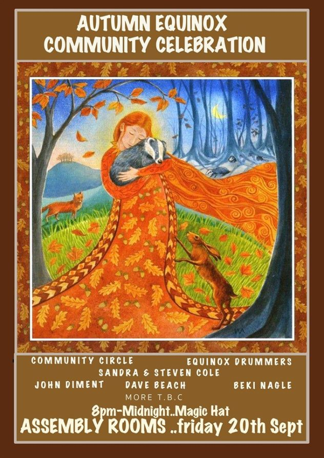 Autumn Equinox Community Celebration (ceremonials & open mic)