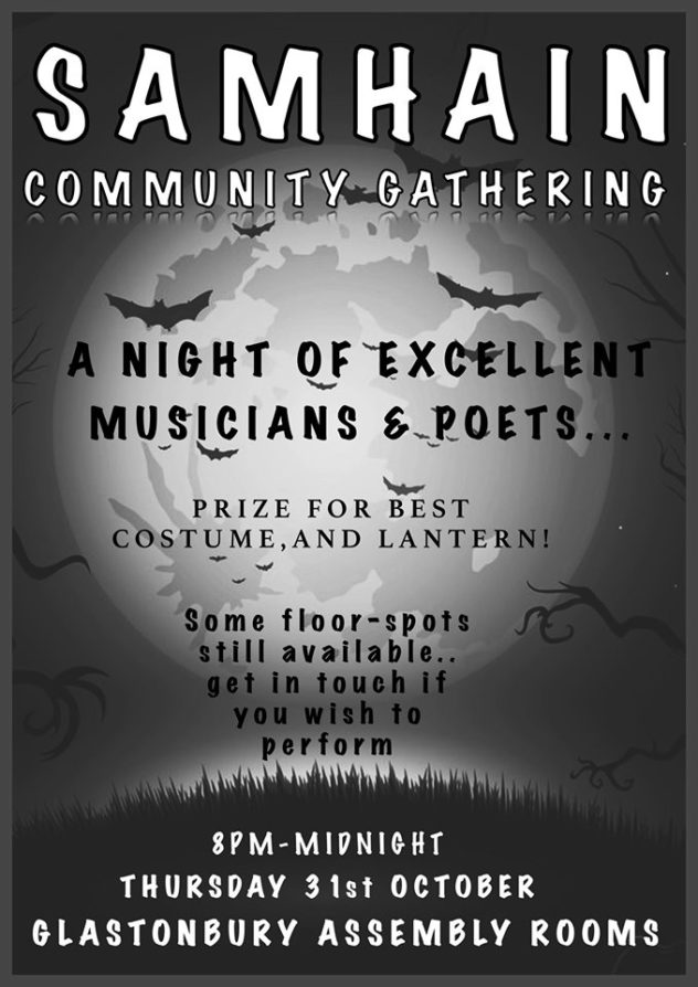 Samhain (Halloween) Community Gathering - Magic Hat, all welcome