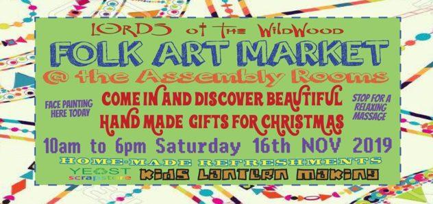 Folk Art Market - Glastonbury Carnival