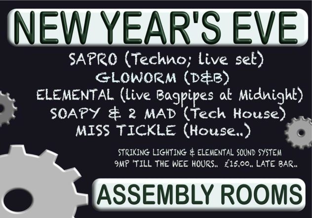 New Year's Eve Party at the Assembly Rooms