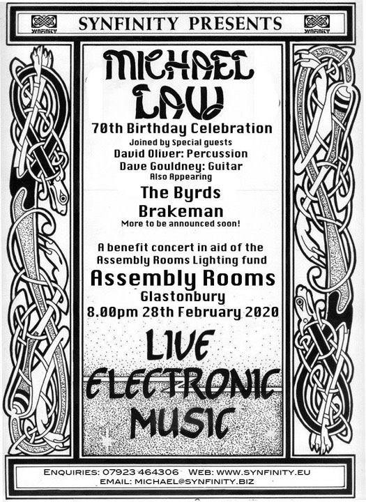 Michael Law's 70th birthday bash - benefit gig