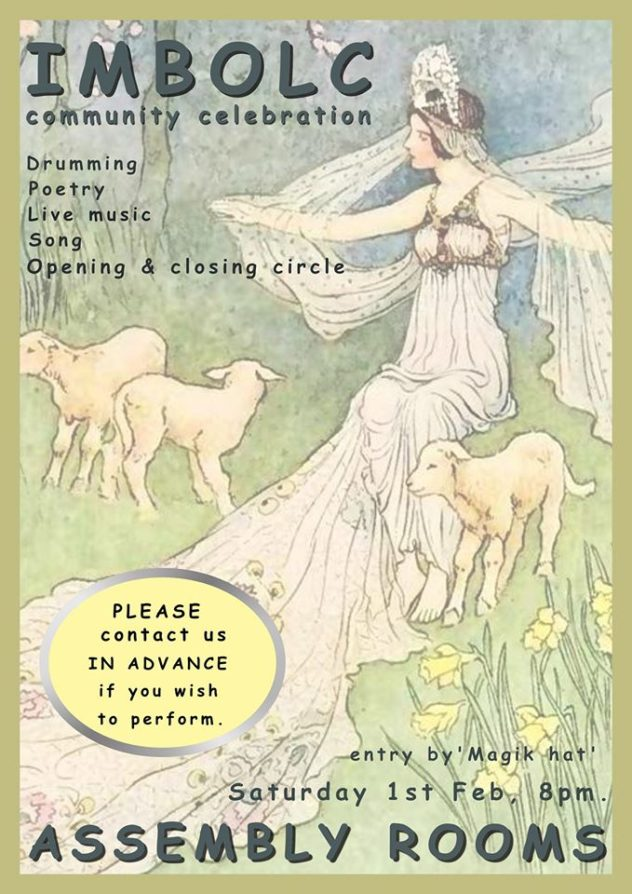 Imbolc Community Celebration - ceremony, open mic etc. Magic Hat fundraiser!