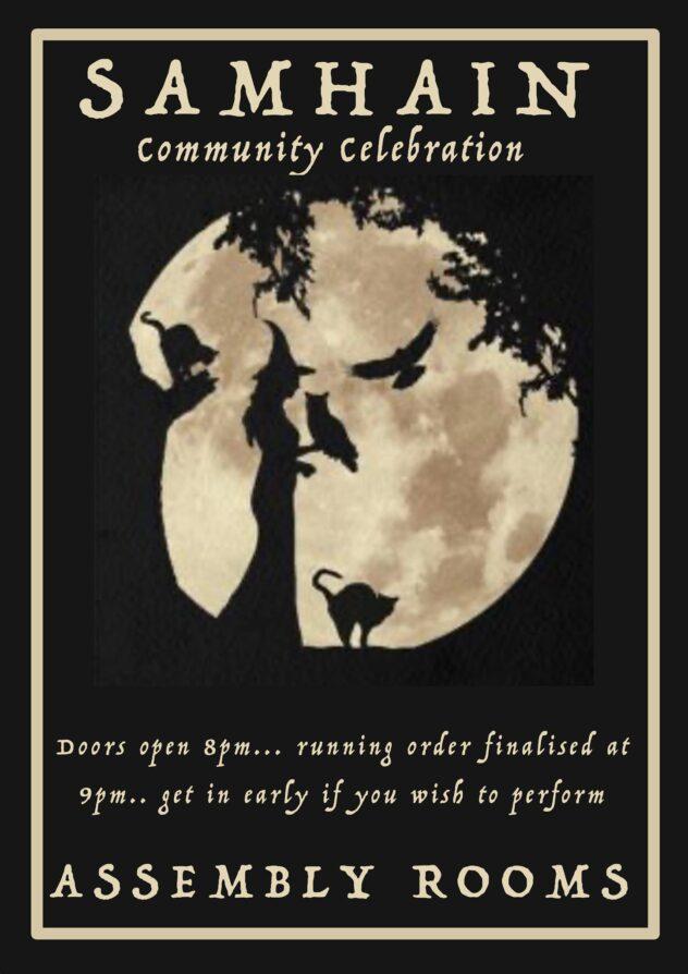Samhain Community Celebration @ Glastonbury Assembly rooms