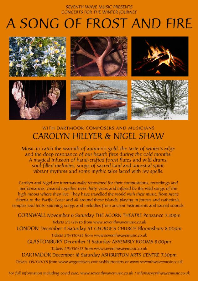 Carolyn Hillier & Nigel Shaw @ Glastonbury Assembly rooms